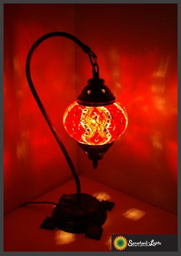 Stehlampe M / Rot / (Art: MS-001)