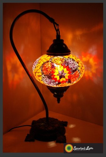 Stehlampe L/ Orange - Lila Stern/ (Art: LS-003)
