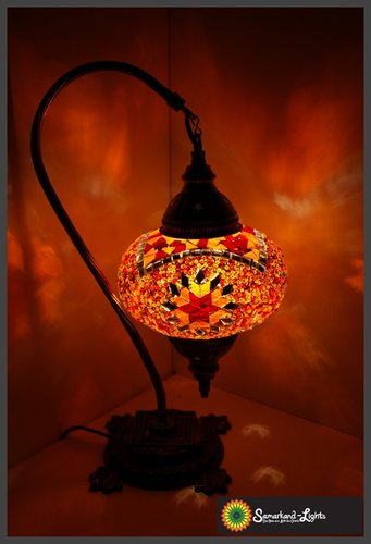 Stehlampe L/ Orange/ (Art: LS-006)