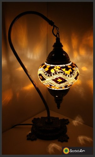 Stehlampe M / Gold / (Art: MS-007)