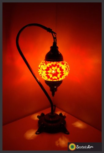 Stehlampe S /  Orange / (Art: STS -005)