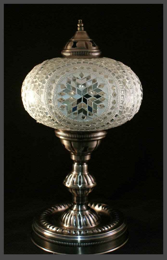 tischlampe xl silber matt chrom art xl 004 samarkand lights. Black Bedroom Furniture Sets. Home Design Ideas