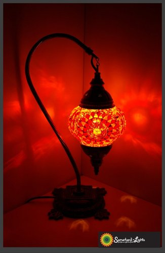 Stehlampe M / Orange / (Art: MS-020)