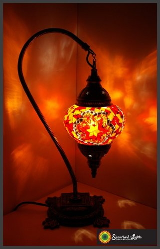 Stehlampe M / Orange / (Art: MS-023)